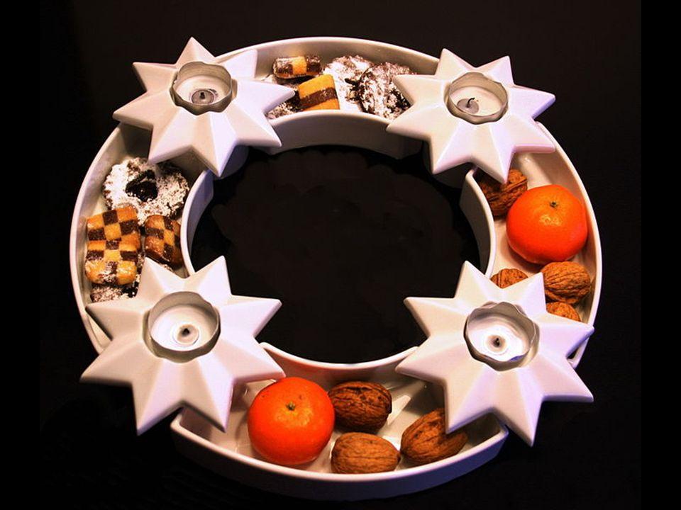 Ostatnia świeca symbolizuje nauczanie proroków, głoszących przyjście Mesjasza. W Wigilię Bożego Narodzenia wszystkie palące się świece stanowią symbol