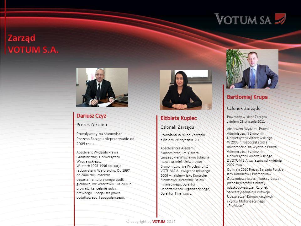Prezes Zarządu Powoływany na stanowisko Prezesa Zarządu nieprzerwanie od 2005 roku Absolwent Wydziału Prawa i Administracji Uniwersytetu Wrocławskiego.