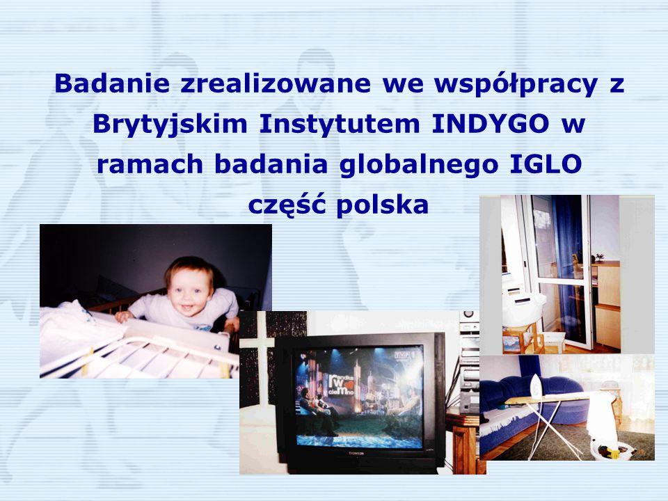 Badanie zrealizowane we współpracy z Brytyjskim Instytutem INDYGO w ramach badania globalnego IGLO część polska