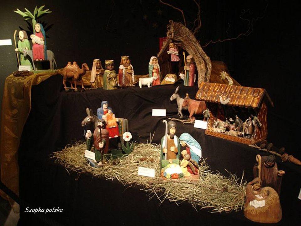 Polska,Służewo - mała szopka bożonarodzeniowa w kościele parafialnym