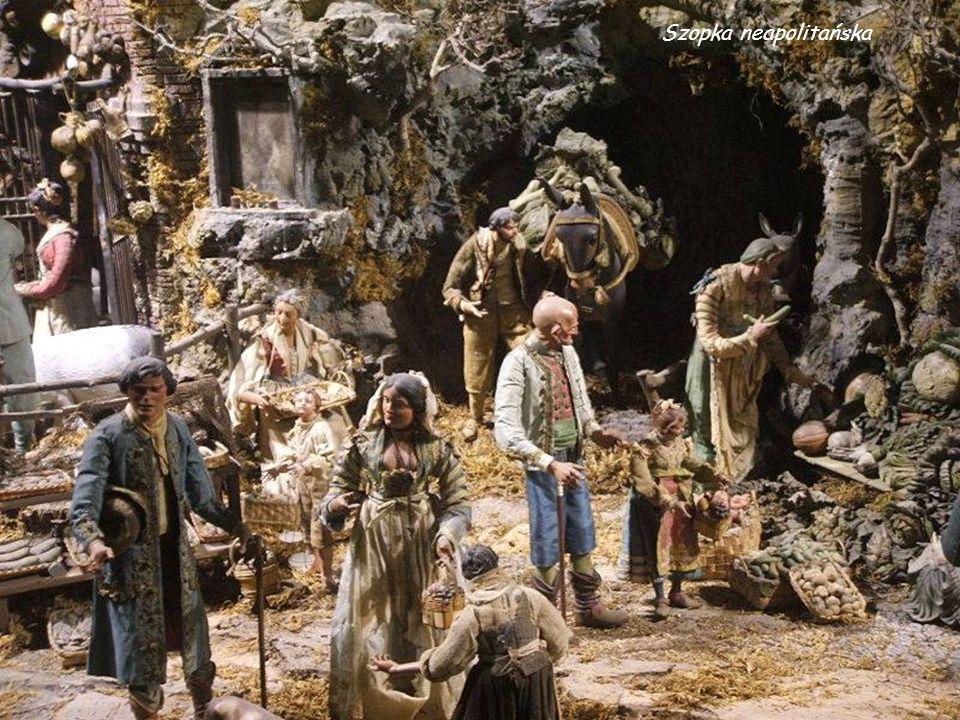We Włoszech, szopką, która cieszy się takim samym wielkim powodzeniem, jak w Polsce szopki krakowskie jest odmiana szopki bożonarodzeniowej z Neapolu