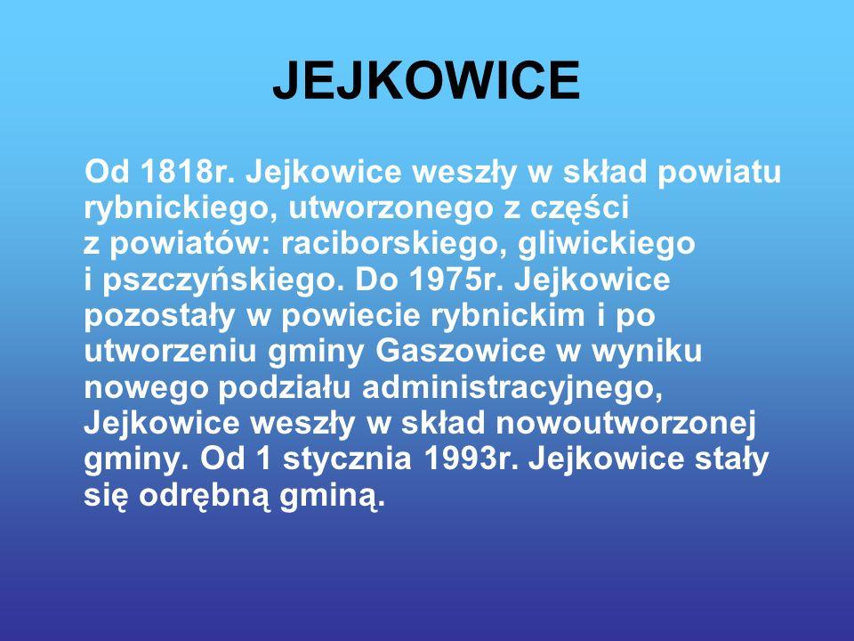 JEJKOWICE Od 1818r.