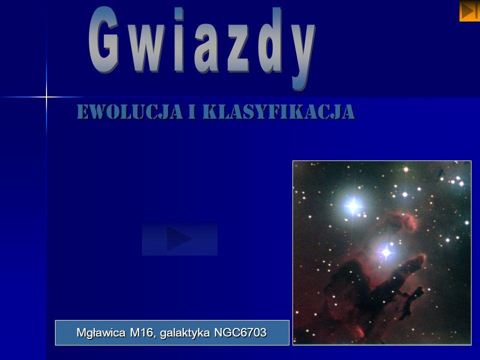 Ewolucja i klasyfikacja Mgławica M16, galaktyka NGC6703