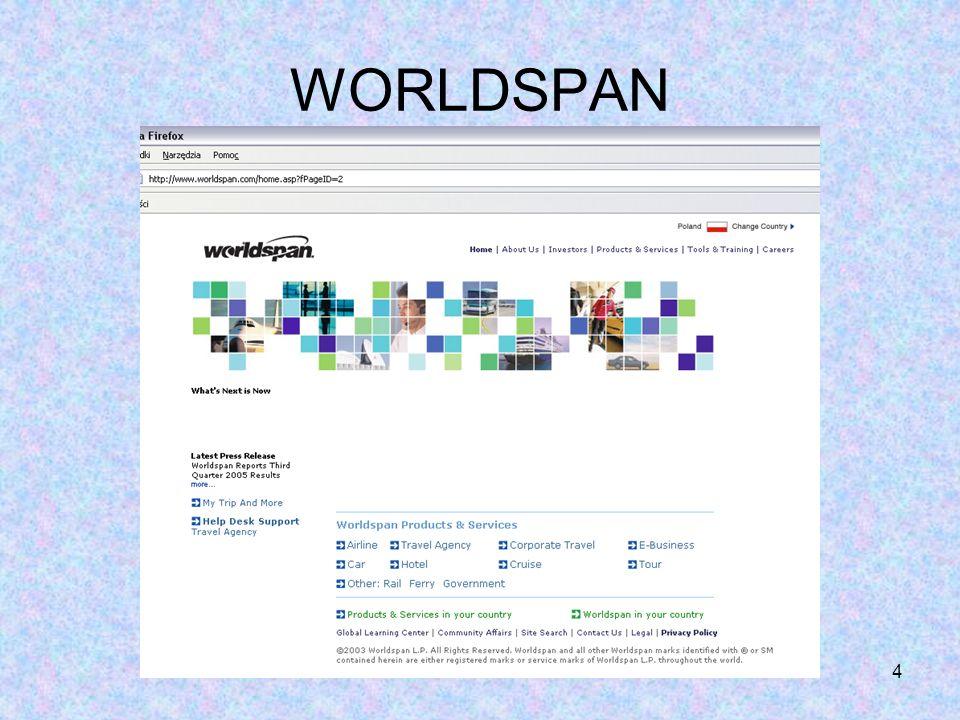 4 WORLDSPAN