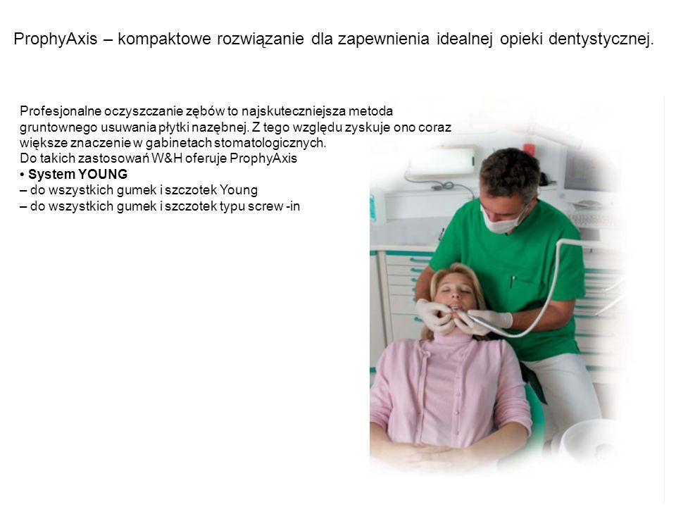 ProphyAxis – kompaktowe rozwiązanie dla zapewnienia idealnej opieki dentystycznej. Profesjonalne oczyszczanie zębów to najskuteczniejsza metoda grunto