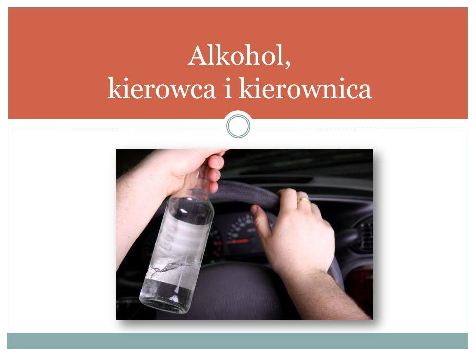 Alkohol, kierowca i kierownica