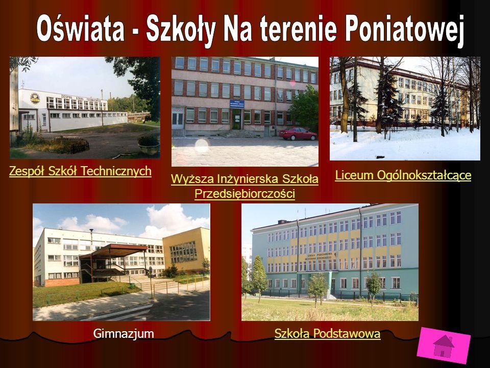 Zespół Szkół Technicznych Liceum Ogólnokształcące GimnazjumSzkoła Podstawowa Wyższa Inżynierska Szkoła Przedsiębiorczości