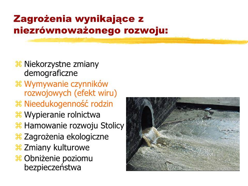 Warszawa ku Europie Mazowsze z Warszawą ð Rozwój Mazowsza przebiega zgodnie ze scenariuszem opisanym przez J. Friedmana w modelu rdzenia i peryferii,