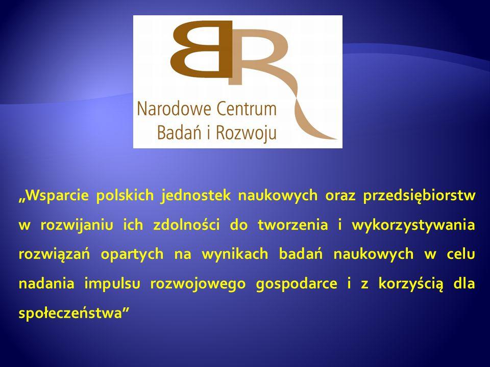 Wsparcie polskich jednostek naukowych oraz przedsiębiorstw w rozwijaniu ich zdolności do tworzenia i wykorzystywania rozwiązań opartych na wynikach ba