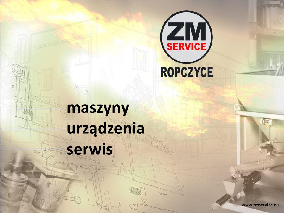 www.zmservice.eu maszyny urządzenia serwis