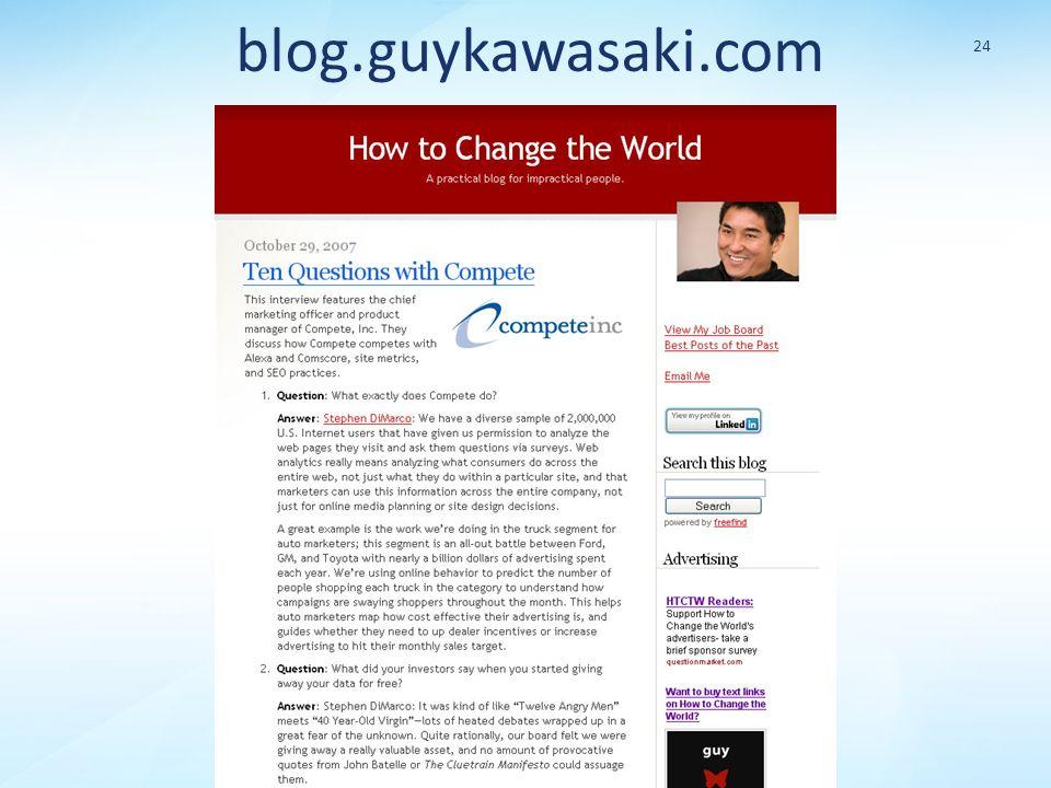 blog.guykawasaki.com 24