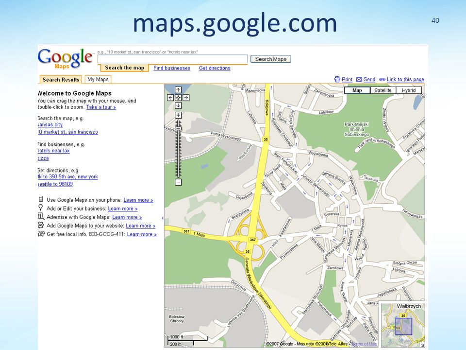 maps.google.com 40