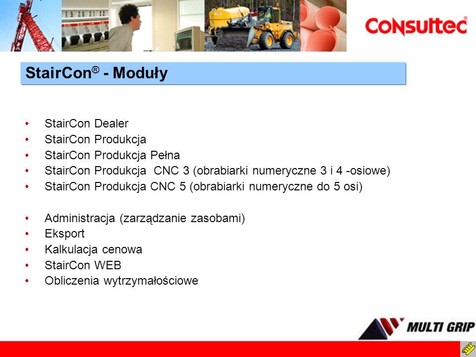 StairCon Dealer StairCon Produkcja StairCon Produkcja Pełna StairCon Produkcja CNC 3 (obrabiarki numeryczne 3 i 4 -osiowe) StairCon Produkcja CNC 5 (o
