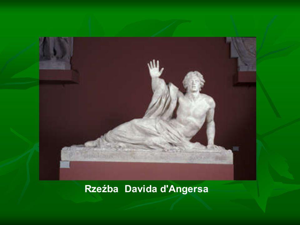 Rzeźba Davida d'Angersa