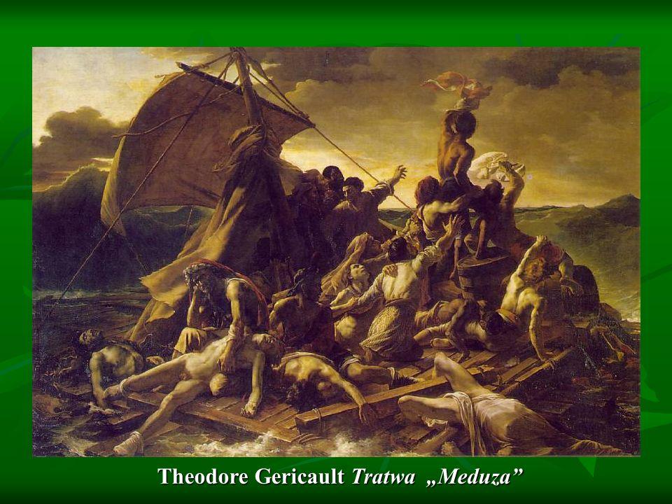 Theodore Gericault Tratwa Meduza