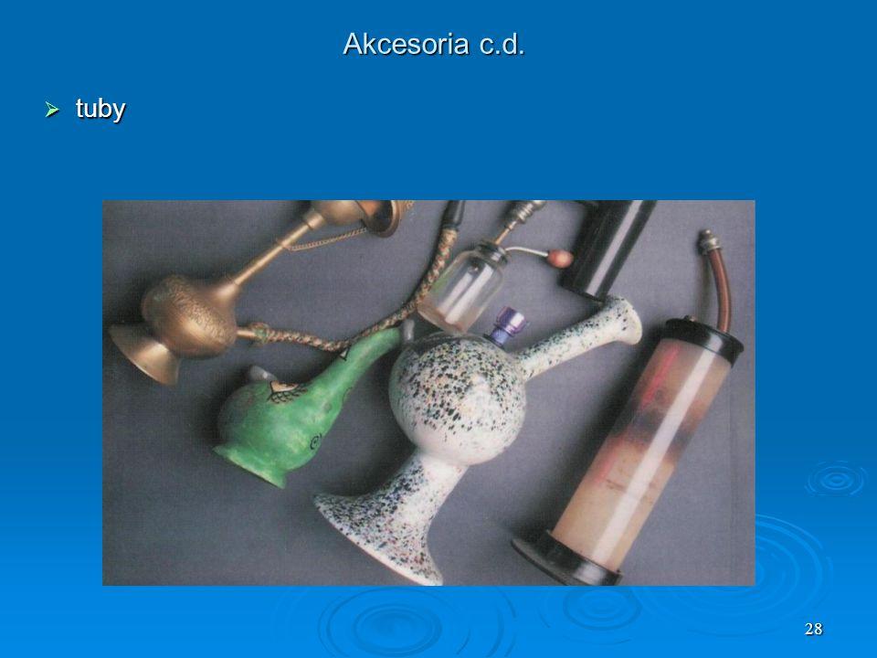 28 Akcesoria c.d. tuby tuby