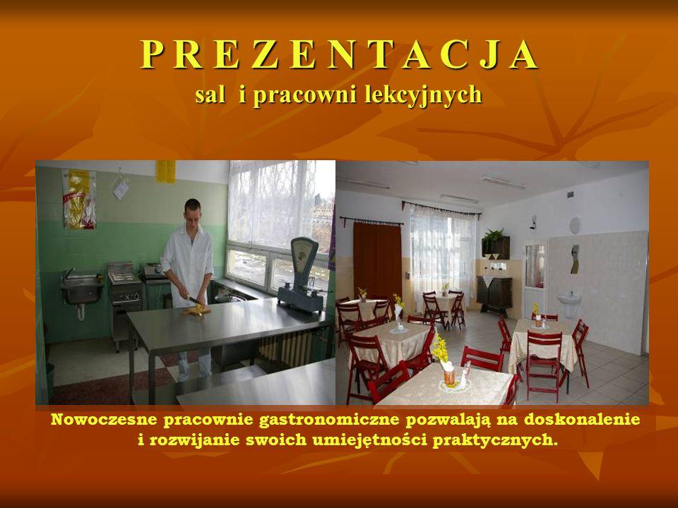 Nowoczesne pracownie gastronomiczne pozwalają na doskonalenie i rozwijanie swoich umiejętności praktycznych.