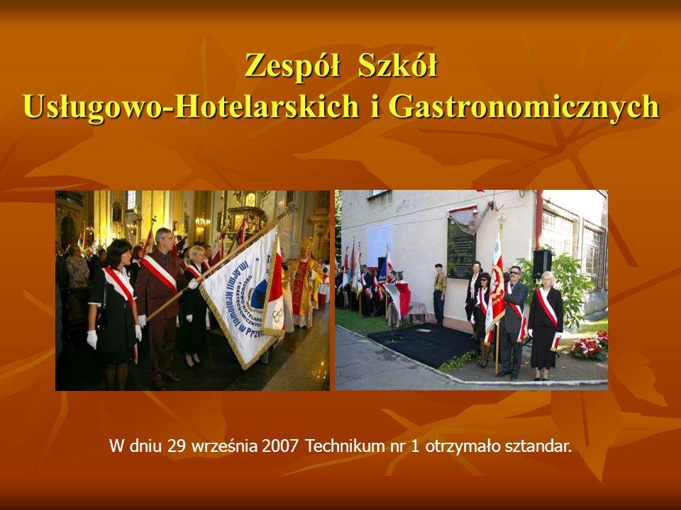 W dniu 29 września 2007 Technikum nr 1 otrzymało sztandar.