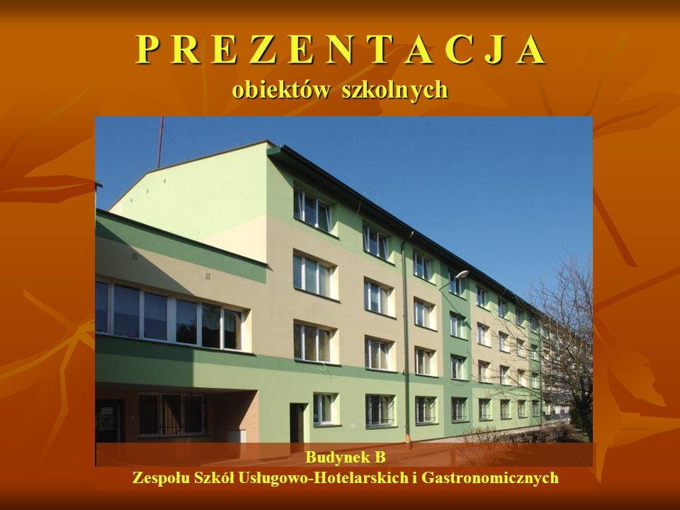 Budynek B Zespołu Szkół Usługowo-Hotelarskich i Gastronomicznych