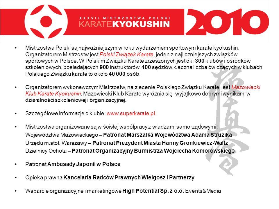 Mistrzostwa Polski są najważniejszym w roku wydarzeniem sportowym karate kyokushin. Organizatorem Mistrzostw jest Polski Związek Karate, jeden z najli