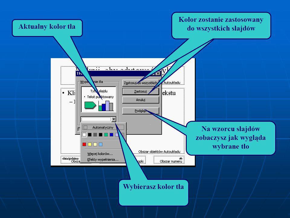 Lub kliknij poza tekstem Lub kliknij poza tekstem prawym przyciskiem myszy