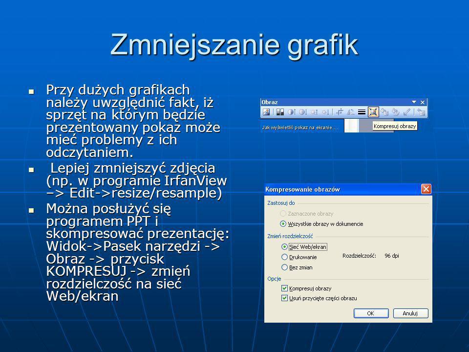 Jak wyświetlić pokaz na ekranie…. By zaprezentować gotowy pokaz na ekranie wystarczy wybrać przycisk F5 lub kliknąć w ikonkę w lewym dolnym rogu