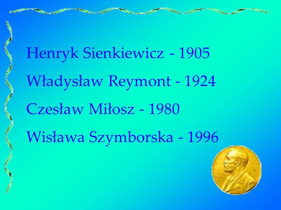 Od roku 1901 do chwili obecnej przyznano ponad 100 nagród w dziedzinie literatury.