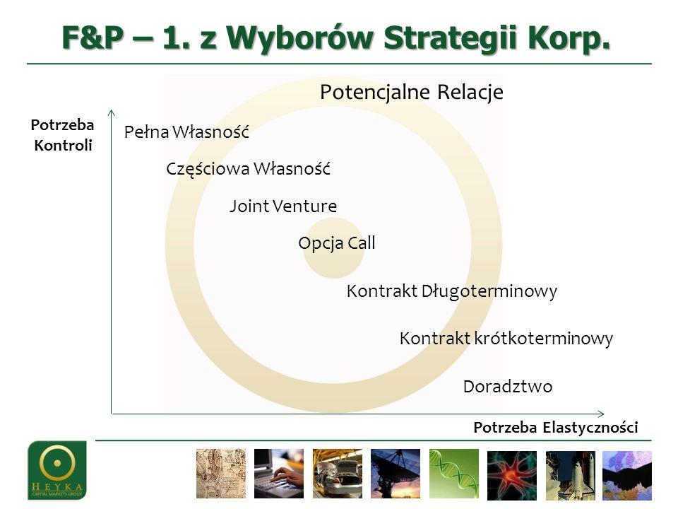 F&P – 1. z Wyborów Strategii Korp.