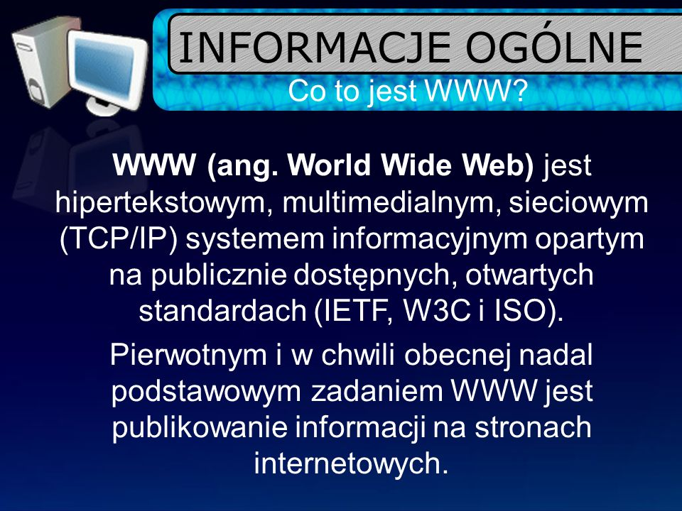 Co to jest HTML.HTML (ang.