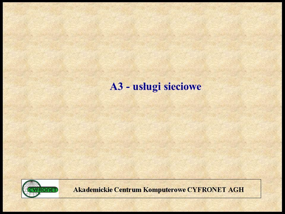 A3 - usługi sieciowe