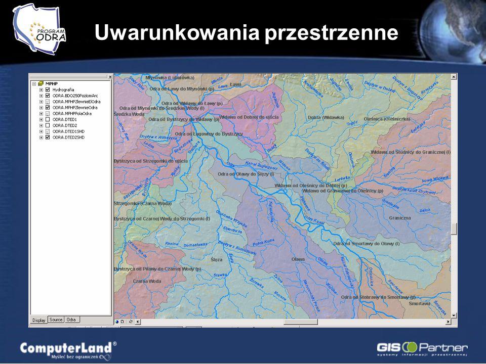 Komunikacja lądowa MPHP Hispometria Administracja Zagadnienia społeczno – gospodarcze Transport, turystyka, żegluga Ochrona przyrody Topografia Infras