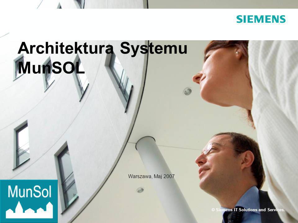 Page 32 Siemens IT Solutions and Services Środowisko deweloperskie Eclipse – zintegrowane środowisko programistyczne JBoss – serwer aplikacji Tomcat – serwer WWW PostgreSQL – baza danych ant – narzędzie służące do zautomatyzowania procesu budowy oprogramowania LDAP – protokół przeznaczony do dostępu do usług katalogowych CVS – system kontroli wersji JTrac – system zarządzania błędami JUnit, WebTest – narzędzia do testów automatycznych CruiseControl – aplikacja do automatycznego tworzenia i testowania produkcji Linux Gentoo – system operacyjny