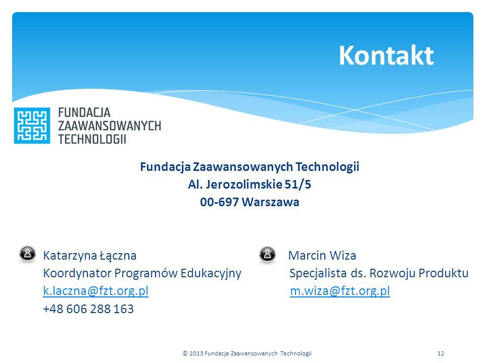 Fundacja Zaawansowanych Technologii Al.