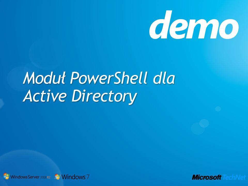 Moduł PowerShell dla Active Directory demo