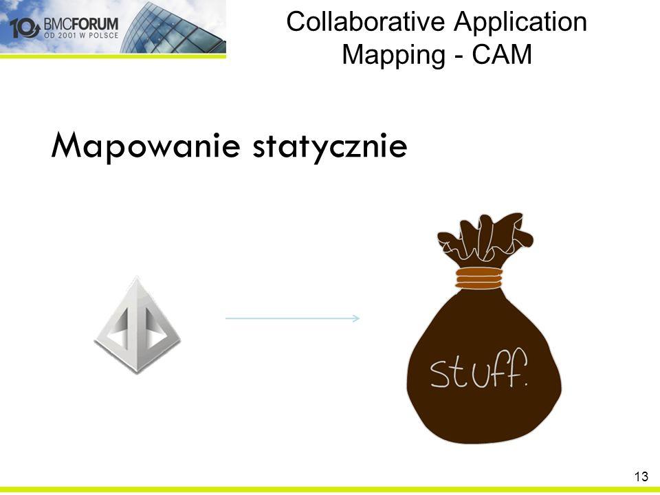 Collaborative Application Mapping - CAM Mapowanie statycznie 13