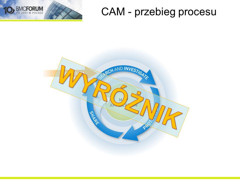 CAM - przebieg procesu