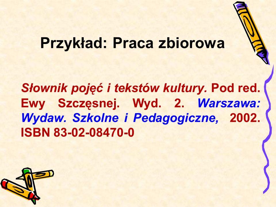 Przykład: Antologia Poezja polska w szkole średniej od średniowiecza do współczesności.