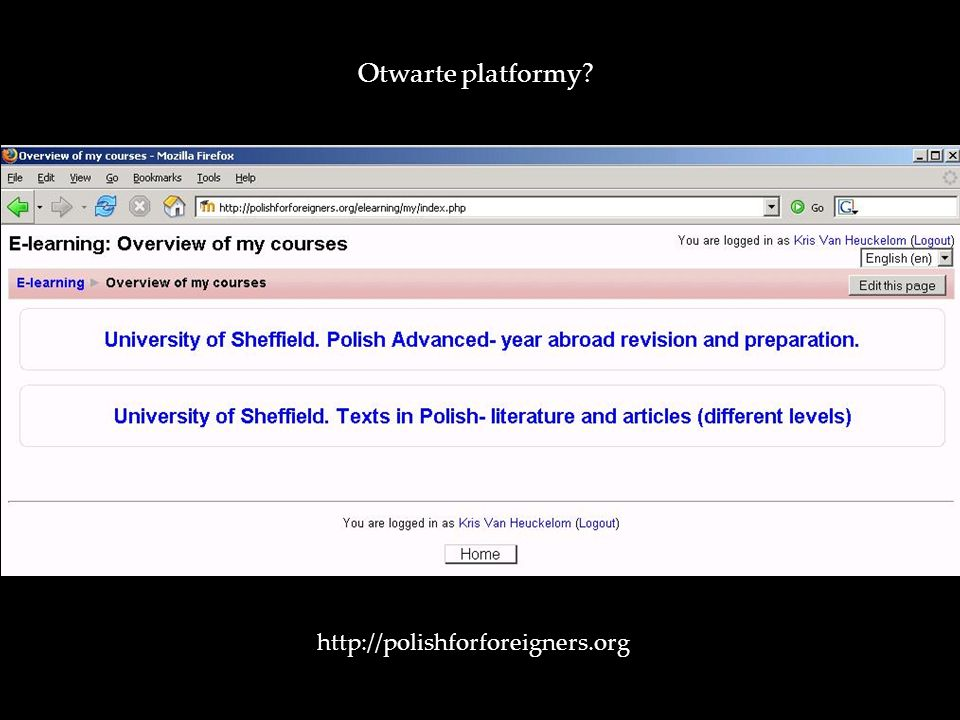 http://polishforforeigners.org / Otwarte platformy?