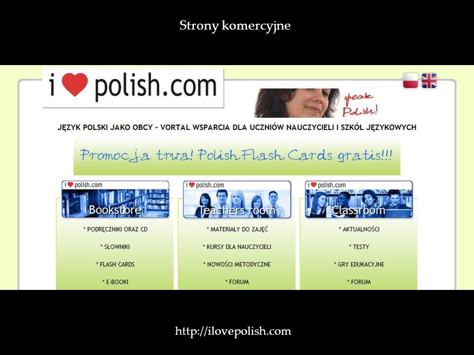 http://ilovepolish.com / Strony komercyjne