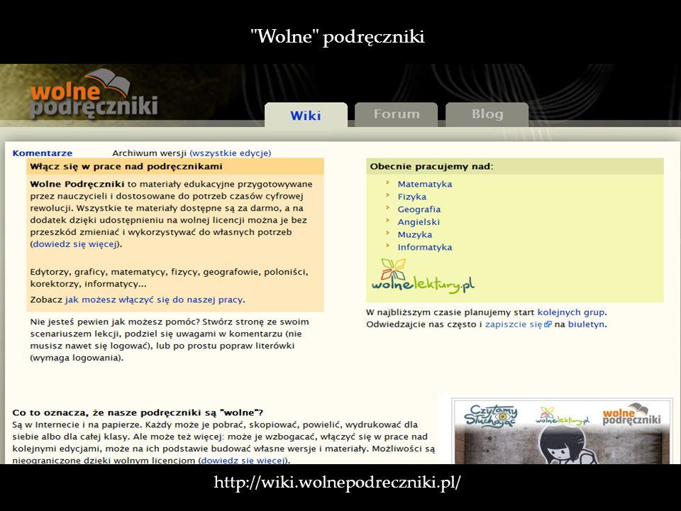 http://wiki.wolnepodreczniki.pl/