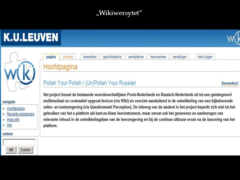 Wikiwersytet http://ru.wikiversity.org