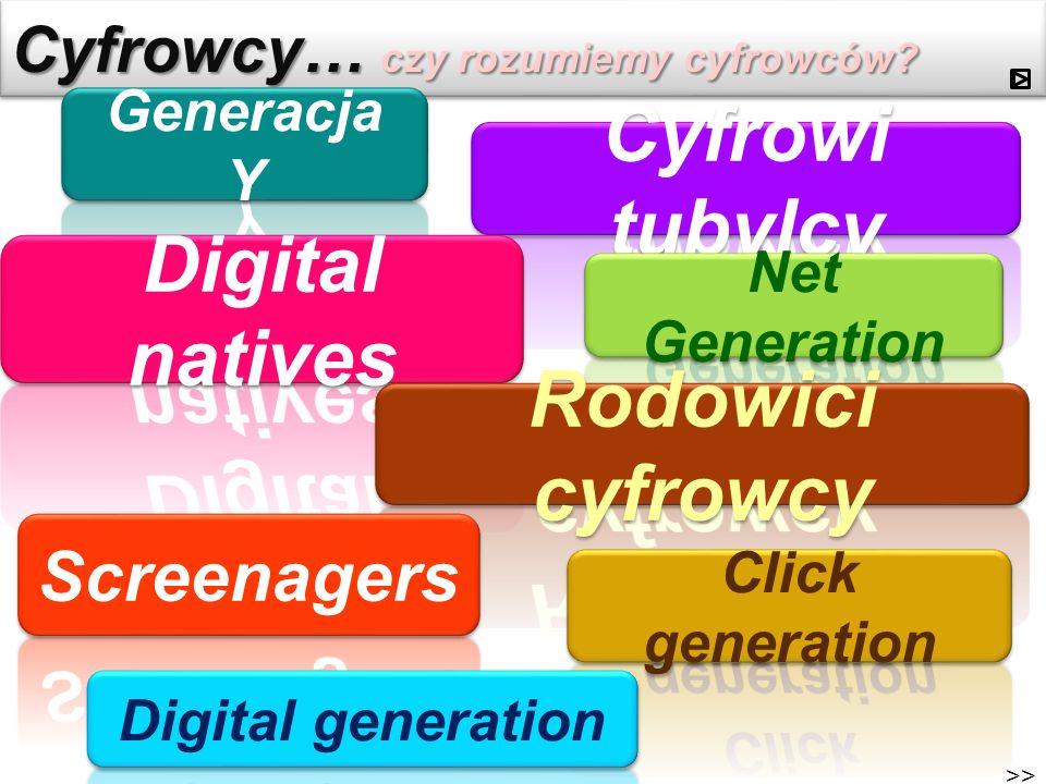 Cyfrowcy… czy rozumiemy cyfrowców? >>