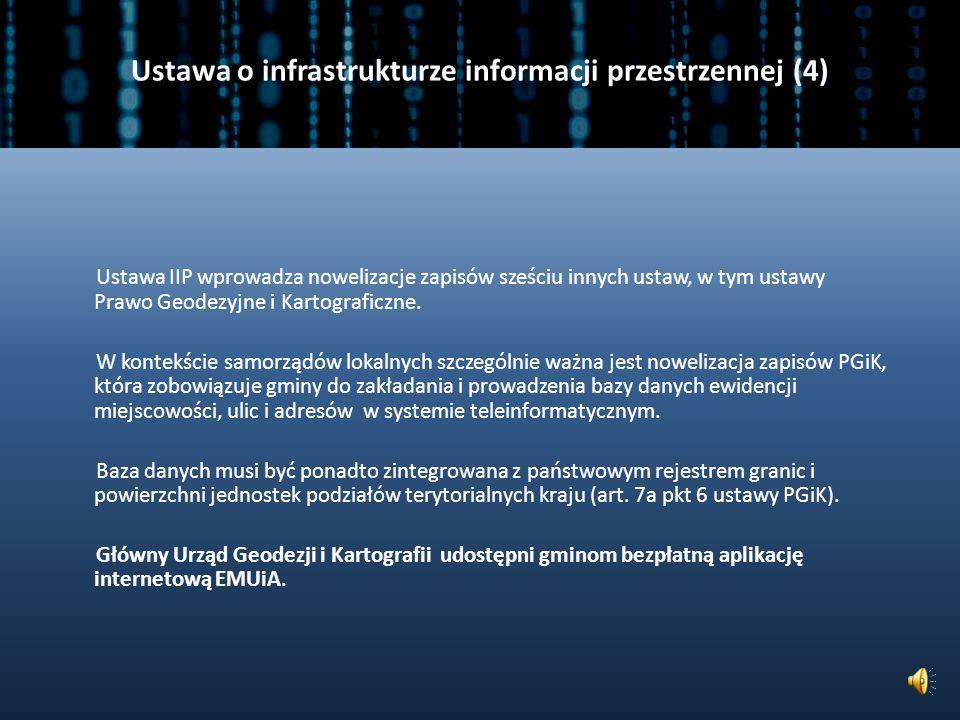 Ustawa o infrastrukturze informacji przestrzennej (3) Dane dostępne za pomocą usług przeglądania mogą mieć formę uniemożliwiającą ich wtórne wykorzystanie w celach zarobkowych.