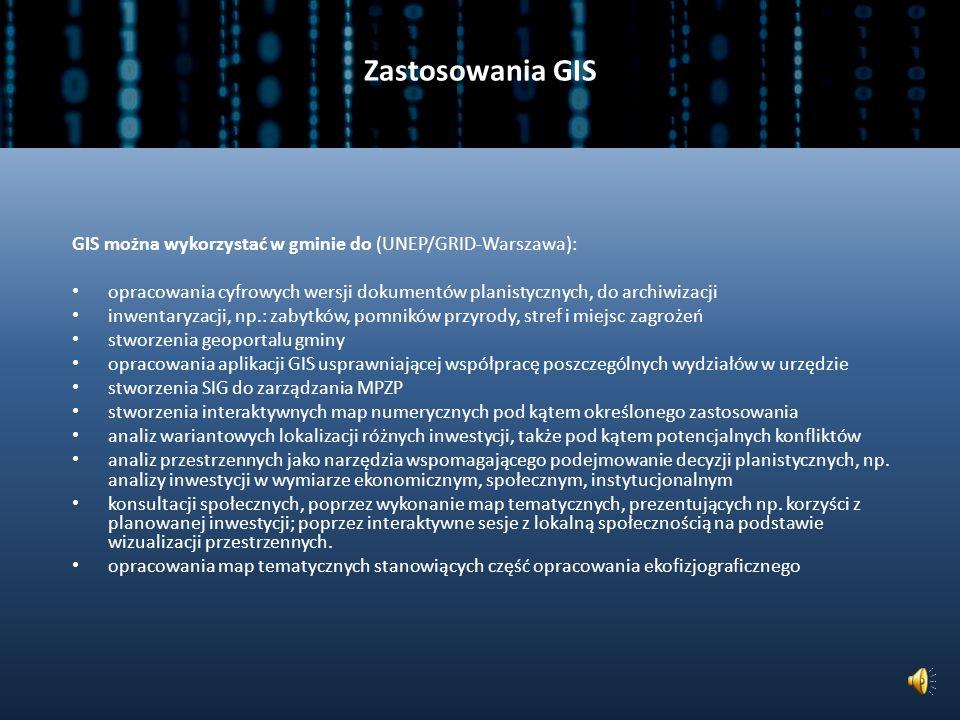 GIS (2) Źródło: Kompetencje GIS w Urzędach Gmin.