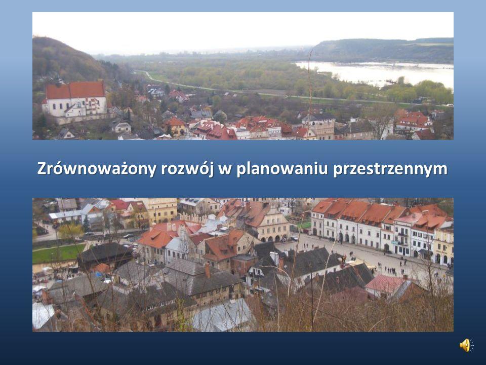 Nieład przestrzenny w Polsce i działania zaradcze (3) Zagospodarowanie przestrzenne kraju sposób rozmieszczenia w przestrzeni Polski podstawowych elementów struktury przestrzennej oraz zachodzące pomiędzy nimi relacje.