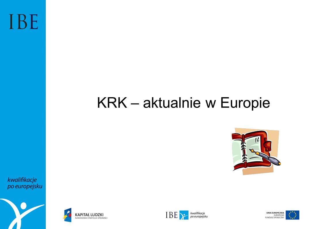 KRK – aktualnie w Europie