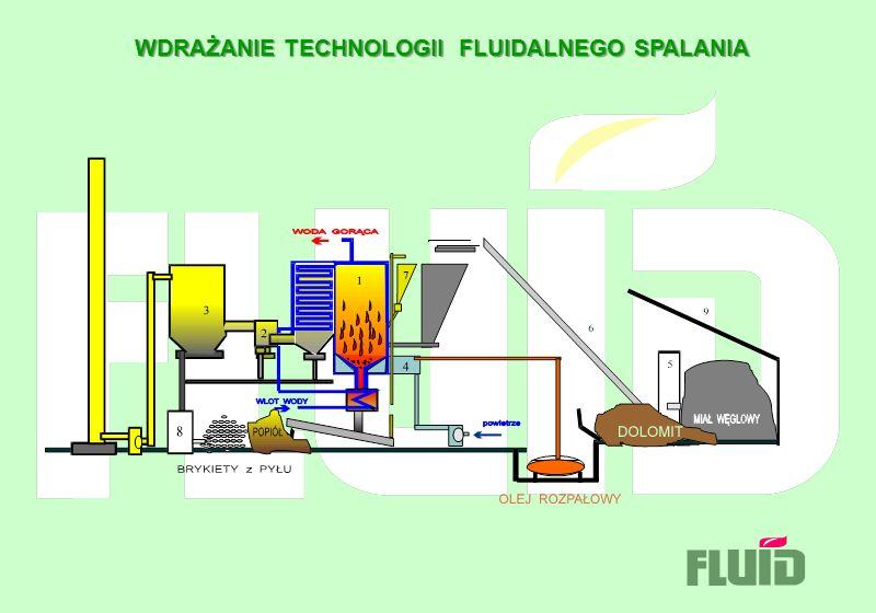 WDRAŻANIE TECHNOLOGII FLUIDALNEGO SPALANIA WDRAŻANIE TECHNOLOGII FLUIDALNEGO SPALANIA