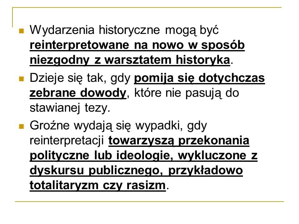 – w ppkt b): o innych represjach popełnionych z motywów politycznych, jakich dopuścili się funkcjonariusze polskich organów ścigania lub wymiaru sprawiedliwości albo osoby działające na ich zlecenie, a ujawnionych w treści orzeczeń zapadłych na podstawie ustawy z dnia 23 lutego 1991 roku o uznaniu za nieważne orzeczeń wydanych wobec osób represjonowanych za działalność na rzecz niepodległego bytu Państwa Polskiego (Dz.