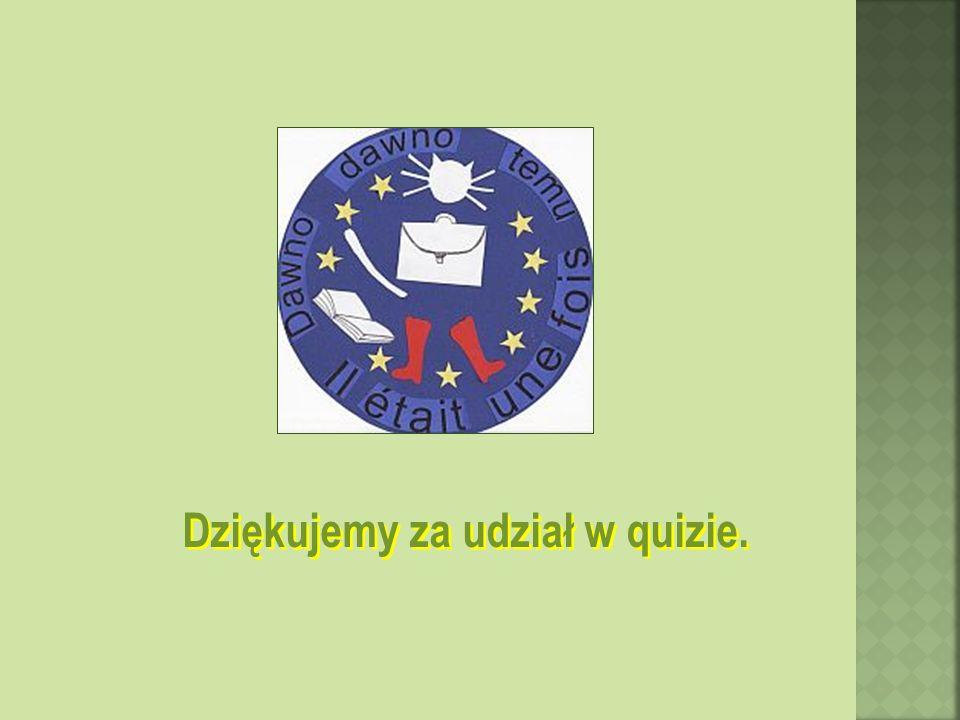 Dziękujemy za udział w quizie.