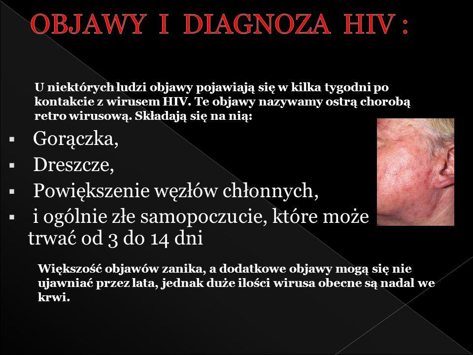 Wirus HIV (mikrofotografia scanningowa). Model wirusa HIV